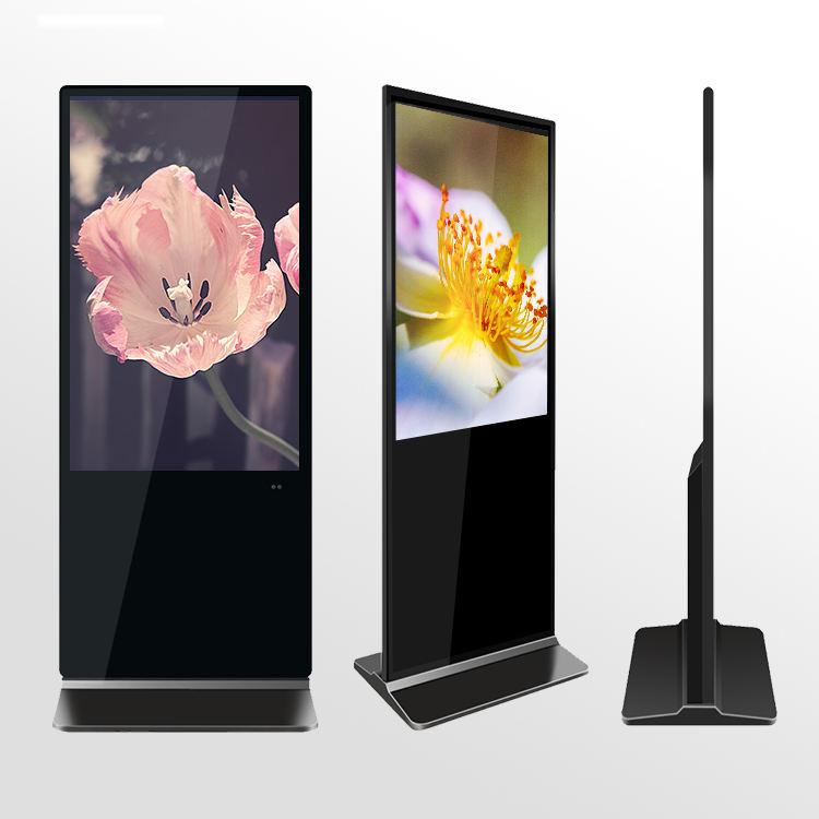 HD 1080P schermo di visualizzazione dello schermo a cristalli liquidi di pubblicità totem lettore digital signage grande multi touch dello schermo del monitor attrezzature stand