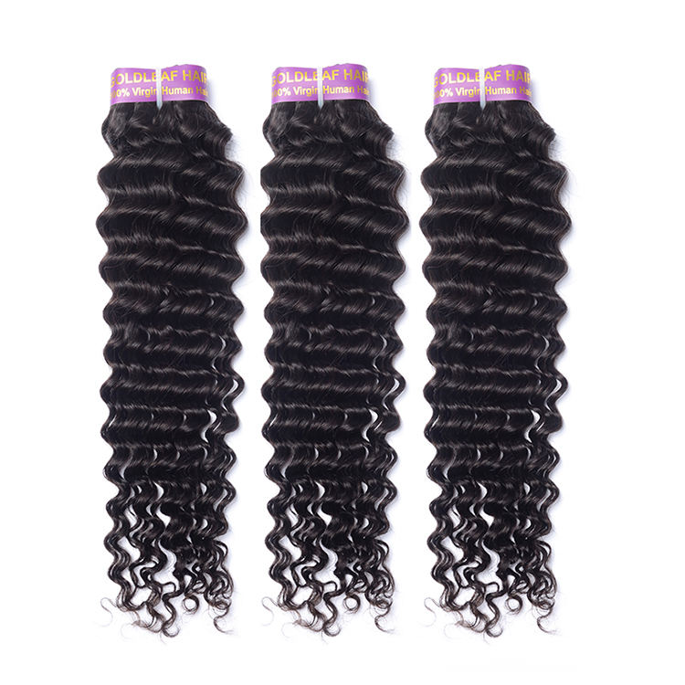 Your own brands 100 human hair weave wholesale double weft cuticle aligned virgin hair vendor