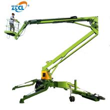 China 8-22m height Diesel trailer boom lift articulating boom lift tables aerial work platform