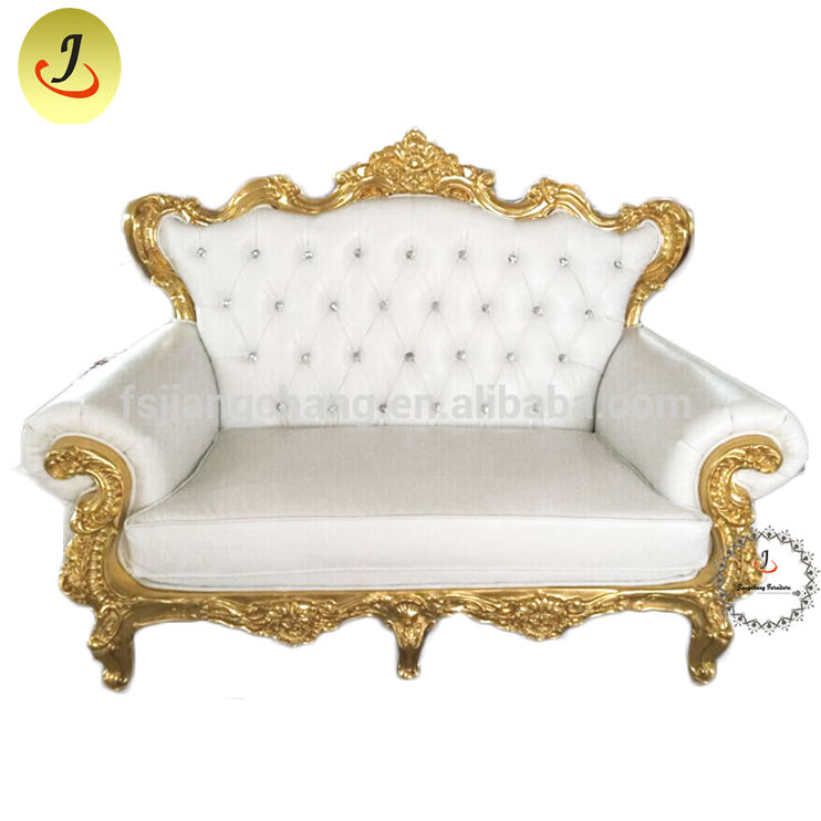 Gold royal cheaper king throne chair wedding for party chair