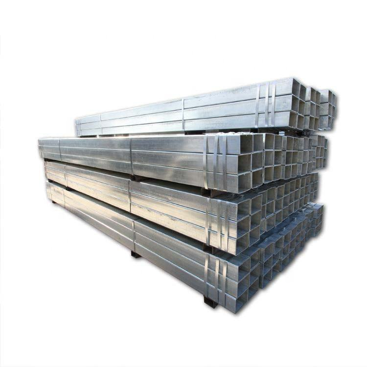 China Tianjin Factory Hot Sale Square Hollow Section Rectangular Pre Gi Steel Pipe Price