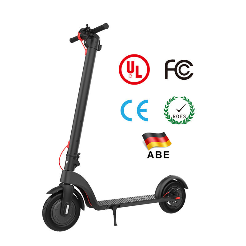 X6 250W Motor 25.2V/6Ah Detachable Battery Electric Mini Scooter Adult Mini Foldable Electric Scooters with Bluetooth Speaker