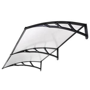 DIY Outdoor Window Awnings Clear Solid Polycarbonate Roof Sheet Canopy Awning