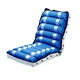 Alternating air pressure medical wheelchair air cell seat cushion for recliner wheelchair