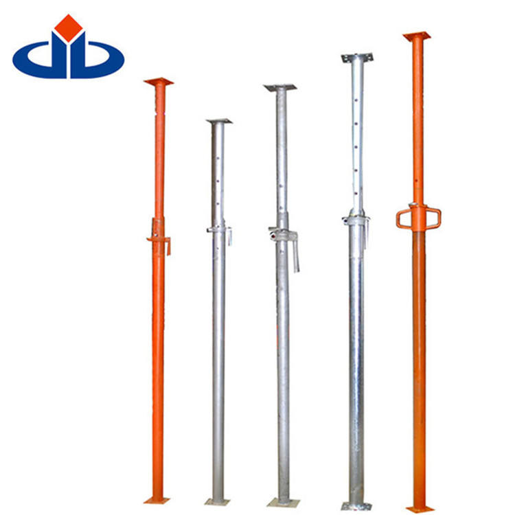 Guangzhou factory Push-pull Metal Props Scaffolding Shoring Adjustable Steel Prop