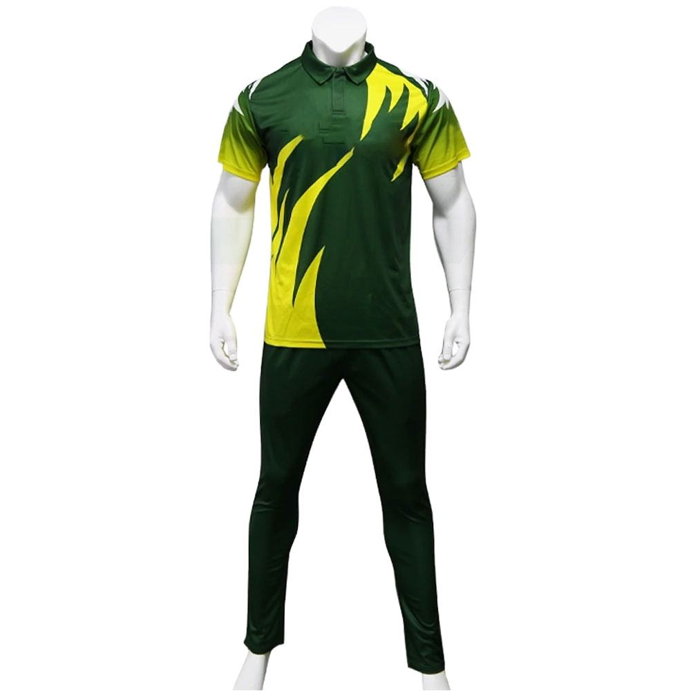 High Level Quality Cricket jersey and trousers Uniform Custom Logo Wholesale breathable Cricket Uniform Set college team