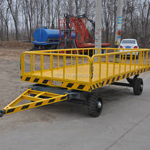 low bed platform trailer industrial flatbed trailer