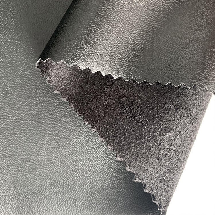 eco-friendly 4 way stretch leather pu leather for leggings