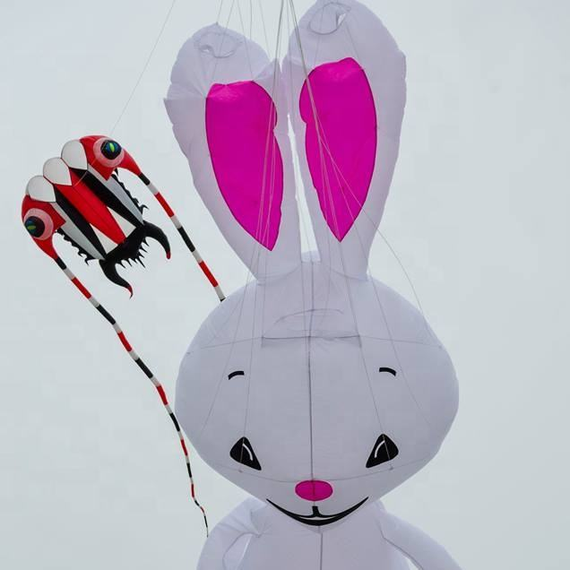 Large inflatable rabbit kite from weifang kite factory