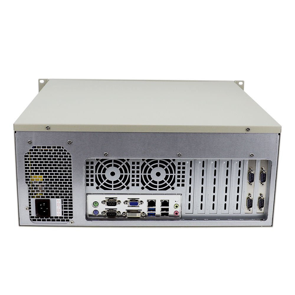 Yanling 4u rack mount server Intel core i5 3450 Desktop CPU Dual Lan network cabinet Industrial PC for Windows XP