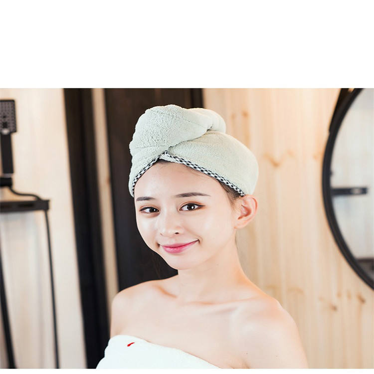 Best-selling dry hair hat refreshing towel hooded towel hotel towels