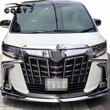 Body kit for toyota alphard in Mona Lisa style 2015-2018 upgrade to 2019 SC front bumper rear bumper side skirts auto parts