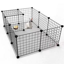 Comfortable Pet Premium Villa Metal Wire Apartment-Style House for Puppies