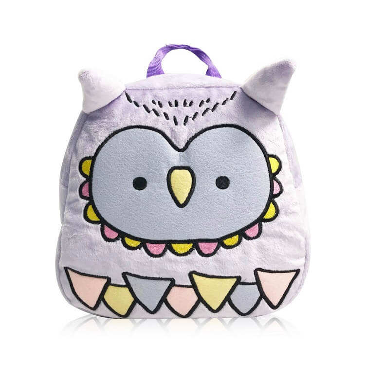Toddler Baby Owl Leash Backpack with Anti Lost Wrist Leash for Child Kid Safety Walking