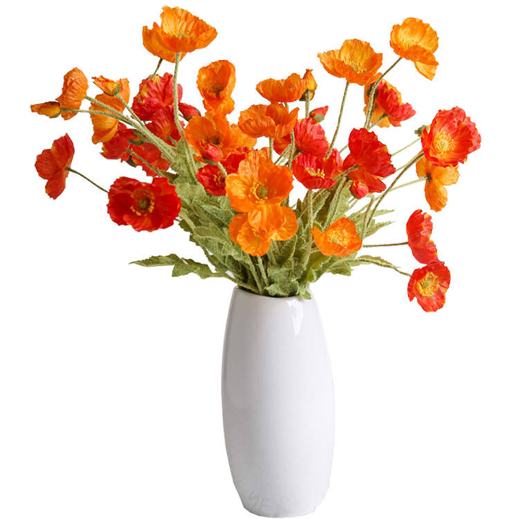 Simulation corn poppy silk flowers artificial flower floral arrangement