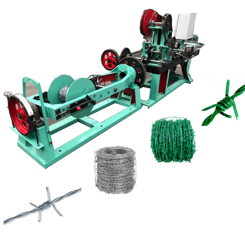 Factory Best Price Automatic Barbed Wire Machine/razor barbed wire making machine