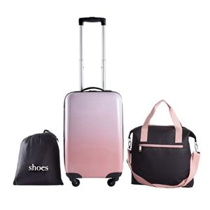 New Fashion Women Trolley Travelling Bags Luggage Trolley Suitcases Wheels Parts Suitcase Luggage Set