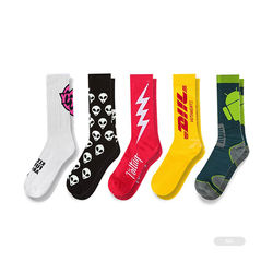 FY-N300 dubai import socks manufacturers export spain brand famous new types and size socks factory in china