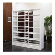 Custom library furniture steel bookcase