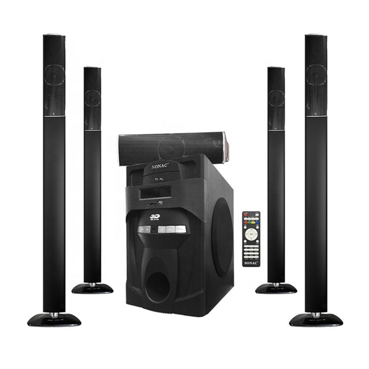 Sonac TG-J5L Low Distortion Amplifier Dynamic Design Subwoofer 5.1 High Class Surround Sound Hi-Fi Multimedia Home Cinema System