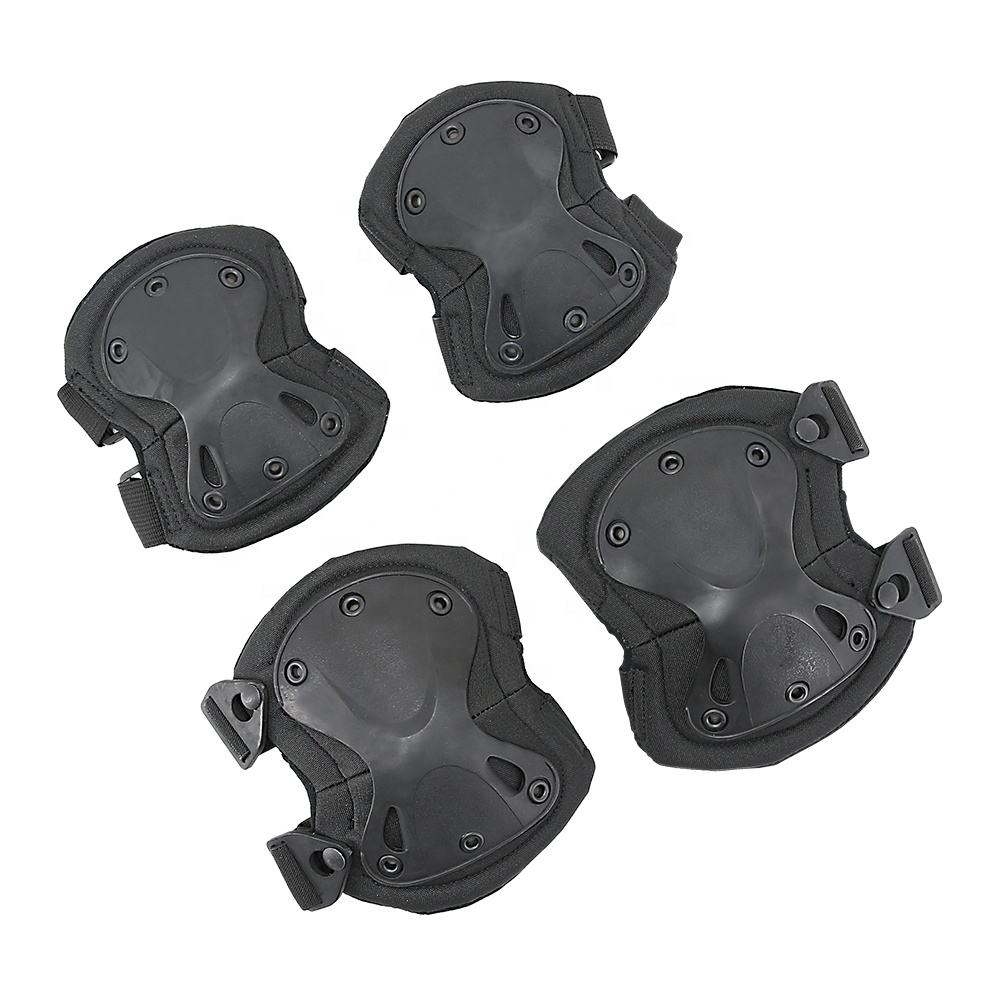 Outdoor military protective gear tactical elbow knee pads