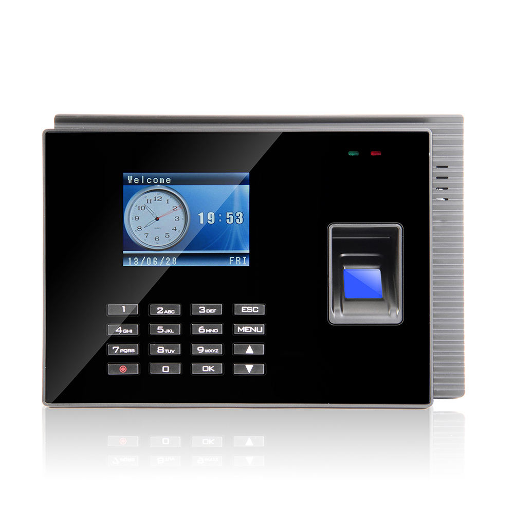 Online Cloud Software Back up Battery Fingerprint Time Attendance Machine Access Control
