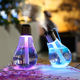 400 ML Light Bulb Decoration Cool Mist Ultrasonic Humidifier With Colorful Light for Room Decor