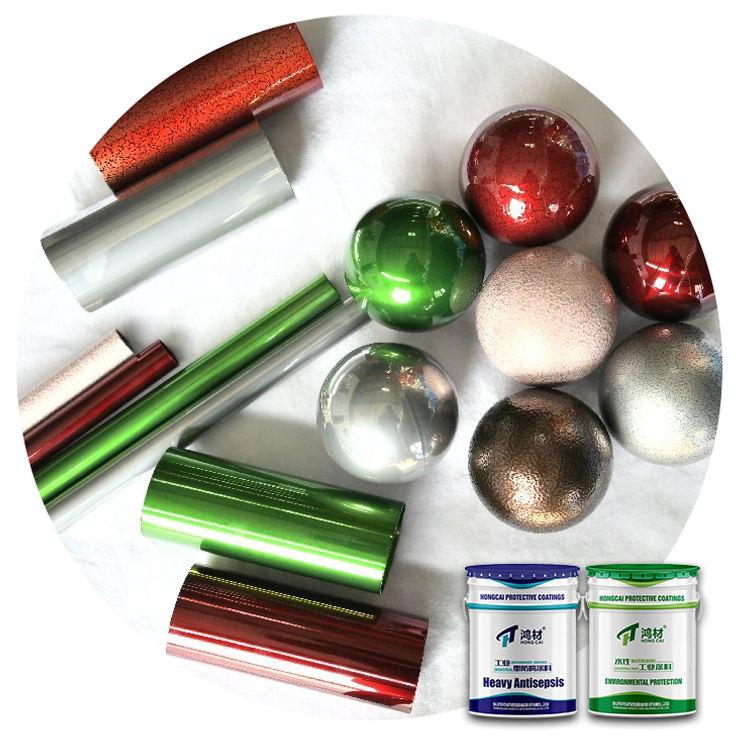 Flüssigkeit Metall Abdichtung Ungiftig Spray Lack Epoxy Zink Reiche Farbe