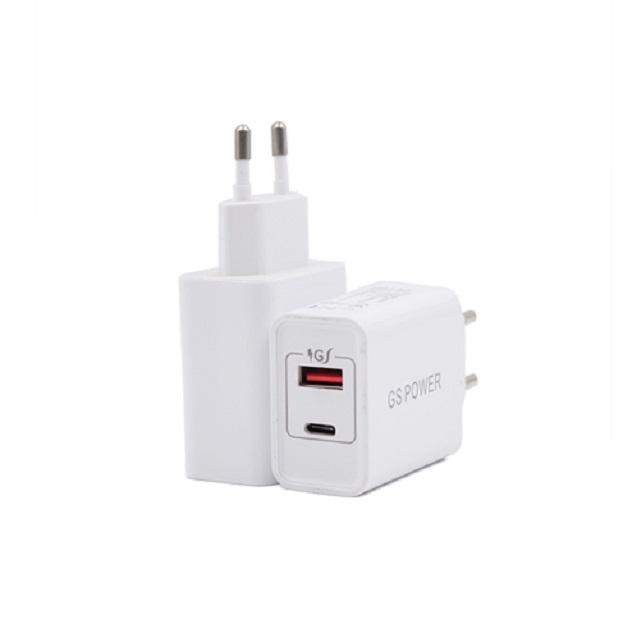 Good Quality 5V 30W USB A and USB C Fast Charger for Iphone Ipad Samsung Smart Phone Tablet
