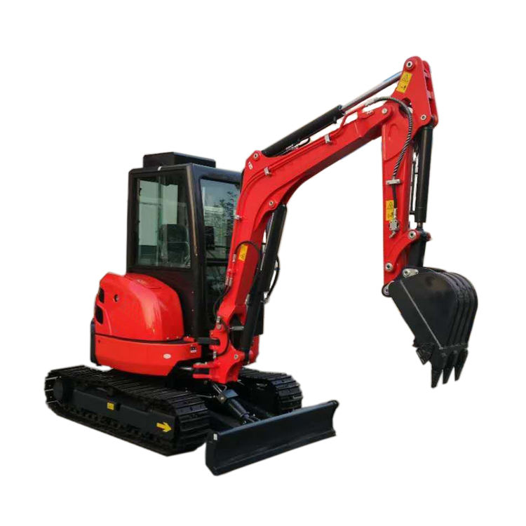 Small Chinese Mini Excavators Zero Tail Digger With CE/ ISO