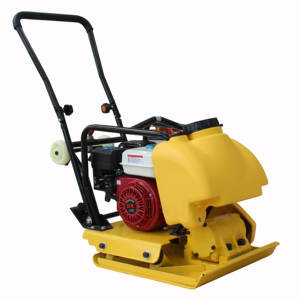 90kg sand compactor gasoline engine GX160 vibratory concrete earth compactor reversible plate compactor for sale