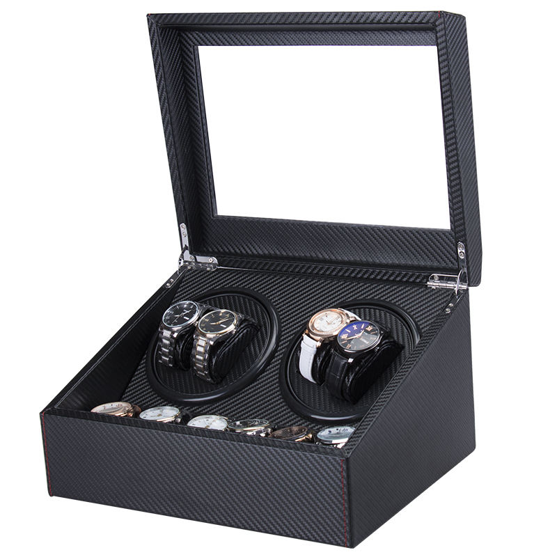 Factory Wholesale Custom Luxury Fashion MDF Watch Winder Automatic, Watch Winder Box