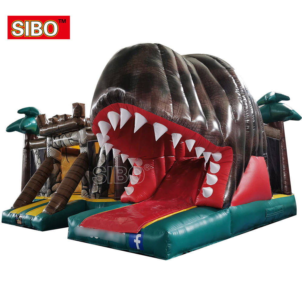 inflatable toys game inflatable bounce jumping castle Dinosaur trampoline kids playground inflatable bouncy castle