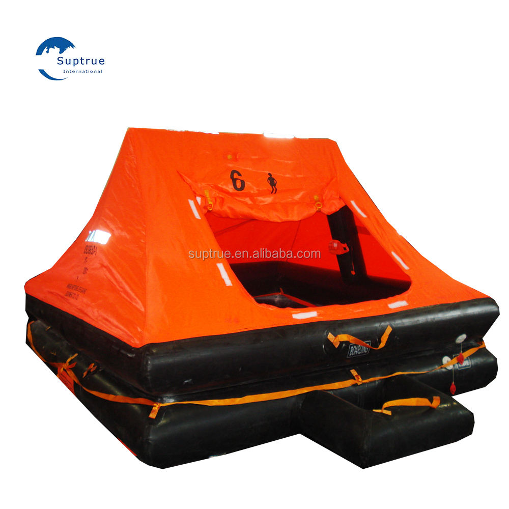 SAVING MARINE LIFE EQUIPMENT/6 PERSON INFLATABLE LIFERAFTS MARINE LIFE RAFTS