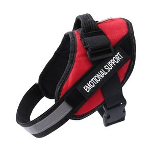 Amazon Hot Selling Custom Fashion Reflective Dog Chest Harness Service Vest