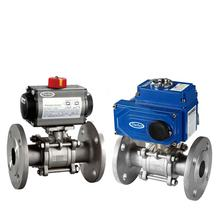 2 way Explosion-proof Electric Flange Ball Valve Electric Ball Valve ON-OFF Ball Valve