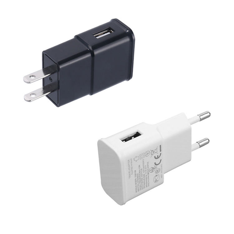 ICE-Bingo High Speed Wall Charger EU US Plug 5V 1A USB Wall Charger For iPhone Smartphones