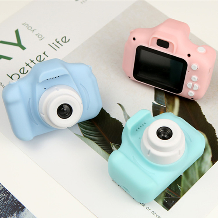 Mini HD 2 Inch IPS Screen 720 1080p 1080P Projection VideoデジタルカメラX2 Kids Camera Children Baby Gifts Birthdayギフト子供のための