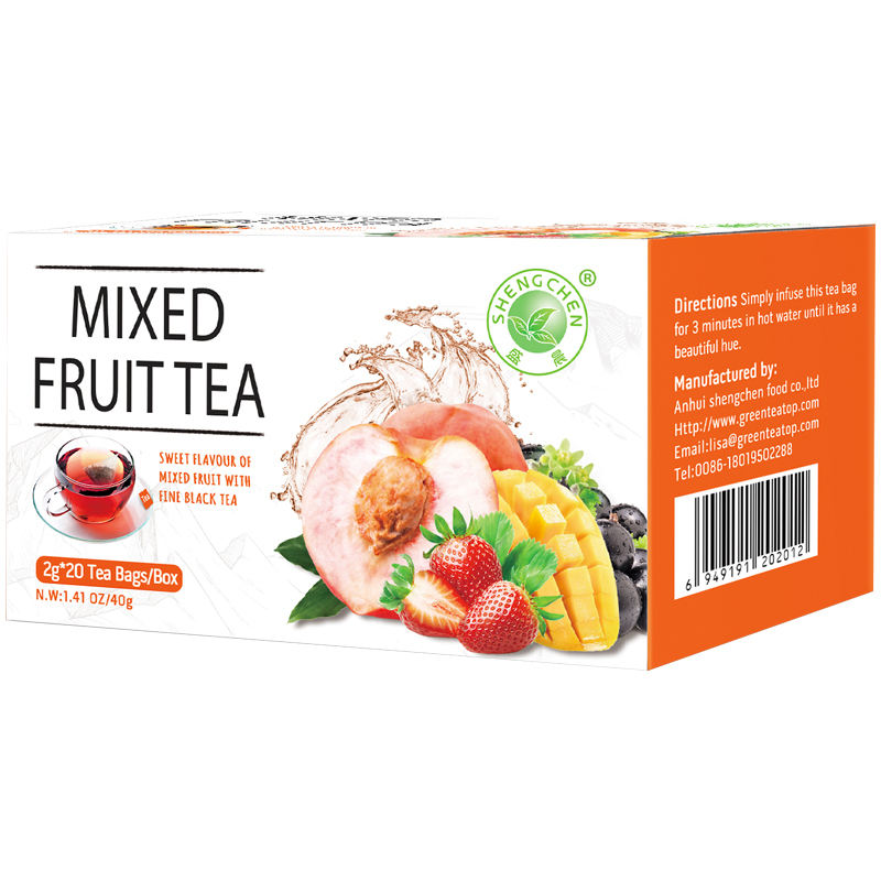 quality teas private label tea ceylon black tea bledned with fruit