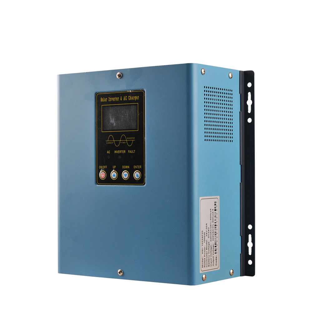 5 year quality warranty and free After-sales maintenance 600Watts 12V DC pure sine wave inverter with 20A solar controller