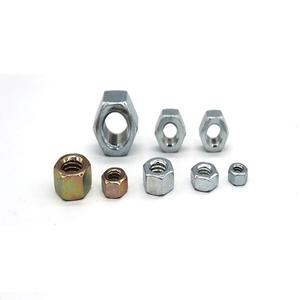 Hex nuts stainless steel hex nuts zinc white hex bolt with nut