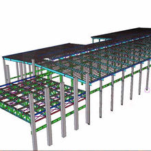 Prefababricated construction design steel structure warehouse