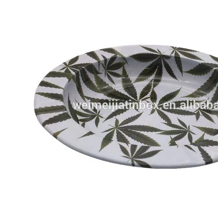 Clearance sale fashion ashtray D130 * 20 green with logo