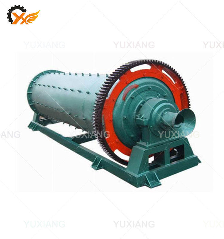Large capacity portable mobile ball mill for wet grinding