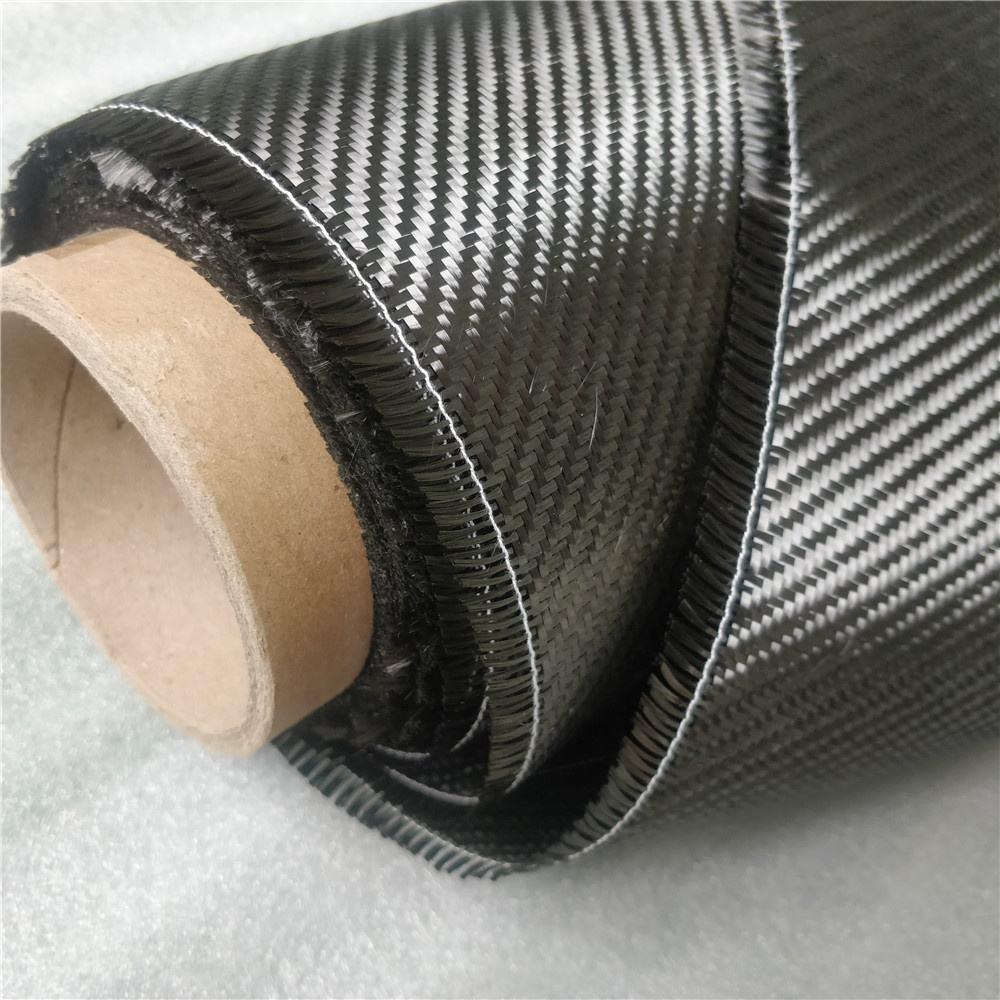 Труба из углеродистого волокна 3K 4x4 реальные саржевого углеродного волокна ткани Патти