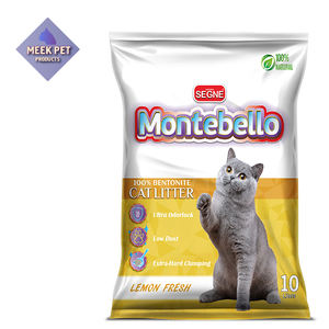 anti-bacteria sample free cat sand bentonite litter clay