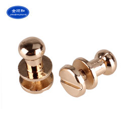 New Brand Logo Round Head Zinc Alloy Metal Rivets For Clothi