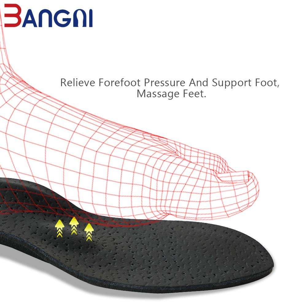 Insoles Arch Supports 3ANGNI Sheepskin Latex Insoles Orthotic Arch Support Leather Insole Comfortable Shoe Pads Inner Shoe Pads