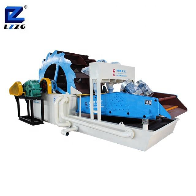 China No.1 brand LZZG high cleaning efficiency mining sand gravel washer sand cleaning machine