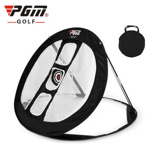 PGM Golf Chipping Net Collapsible Golfing Target for Accuracy and Swing Practice Indoor Outdoor Use With 3 Target